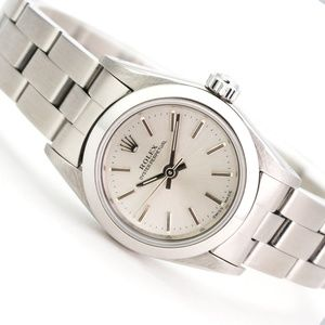 Rolex Watch 26mm Oyster Perpetual 67180 Steel